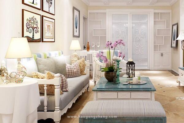 天津新房装饰案例服务周到 给你一个完美漂亮的家装