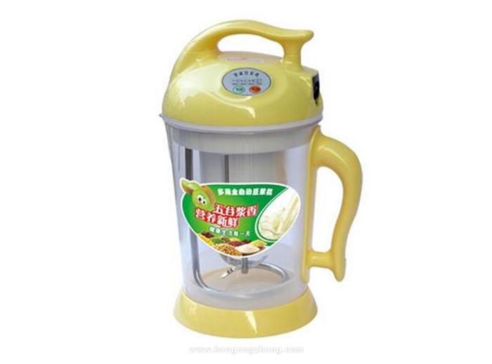 豆浆机怎么用