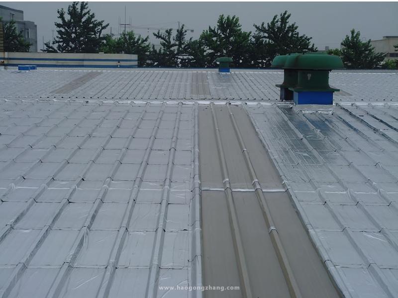 屋面防水做法