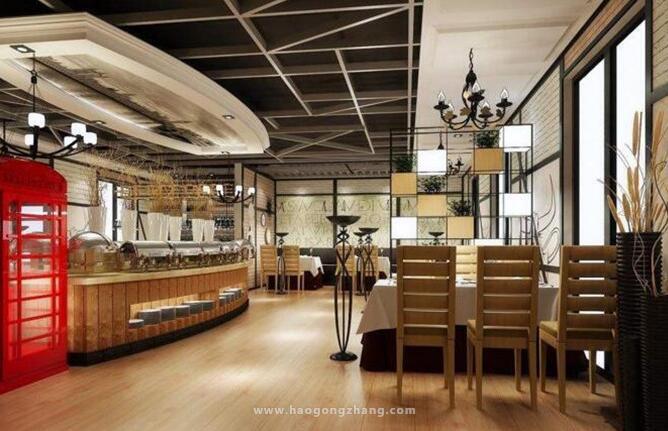 德州西餐厅装修设计