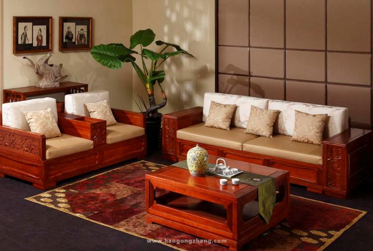 孝感实木沙发