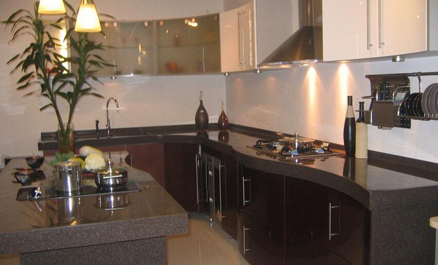 厨房人造石台面安装