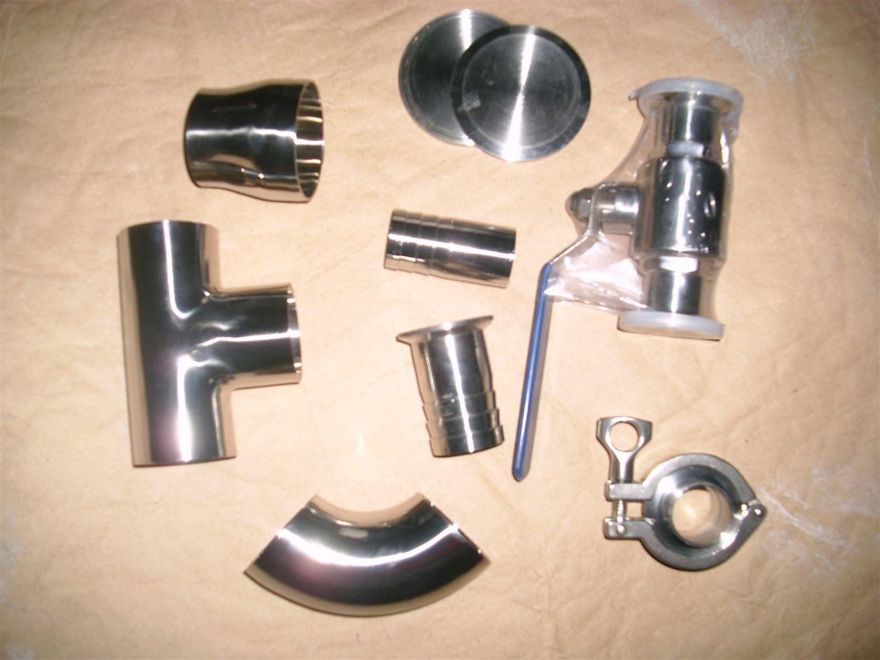 卫生级不锈钢管件