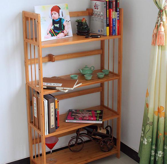 知名的竹子书架生产厂家图片