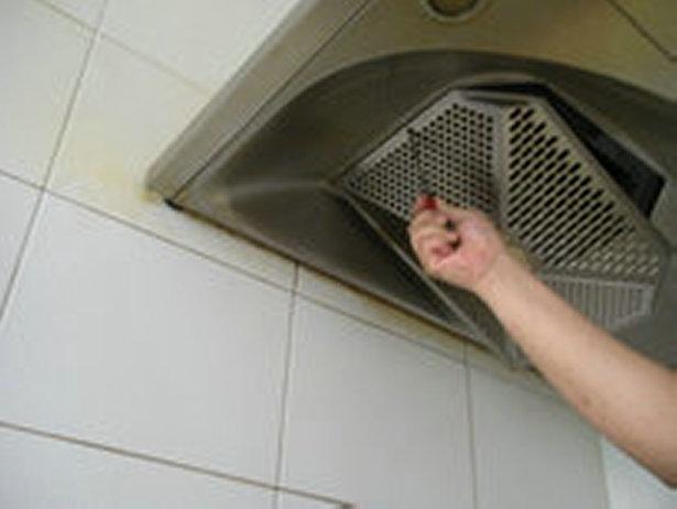 油烟机滤网清洗方法 油烟机清洗窍门