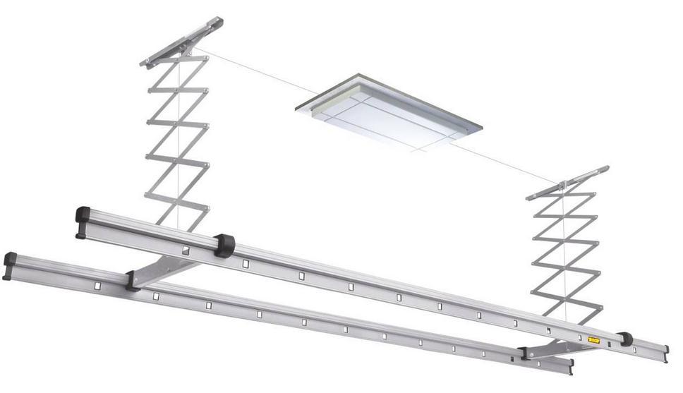 阳台晾衣架安装步骤 晾衣架怎么安装