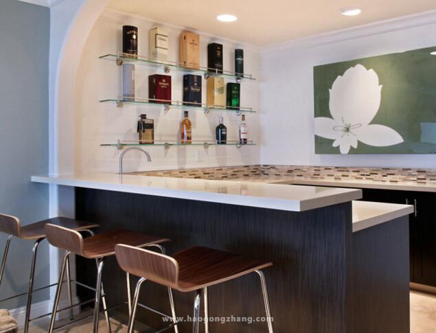 厨房吧台的高度设置成多少最适合图片