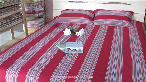 老粗布床单好不好