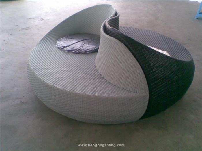 半圆形沙发