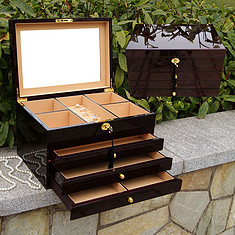 木制首饰盒怎么样  木制首饰盒的优点