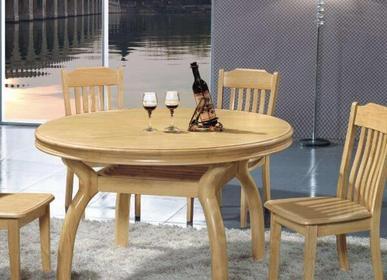 圆形实木餐桌椅价格一般是多少