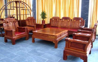 红木沙发选购和保养