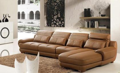 真皮沙发的清洗与保养