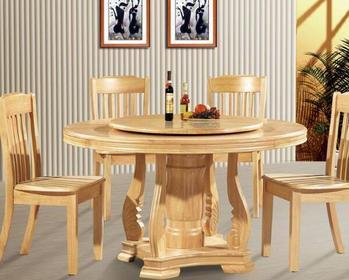 实木圆餐桌价格介绍 实木圆餐桌品牌