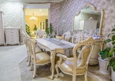 2017最畅销的欧式餐桌 实木餐桌