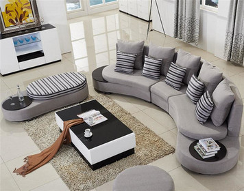 半圆形沙发好吗 半圆形沙发尺寸