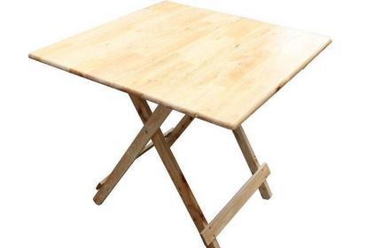 实木折叠餐桌好不好 实木折叠餐桌介绍