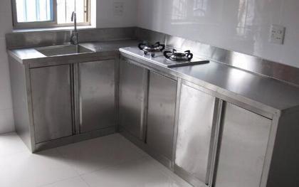 不锈钢厨房橱柜好吗 不锈钢厨房橱柜优缺点