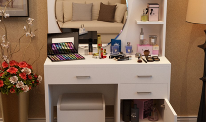 梳妆台尺寸大约是多少 购买梳妆台技巧秘诀注意事项