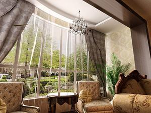 欧式家居装修小客房欧式装修效果图大全
