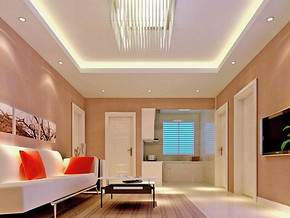 70平米一室一厅装修效果图