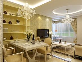 欧式风格40单身公寓装修图