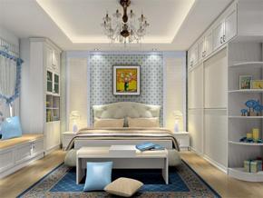 韩式淡雅卧室装修图片