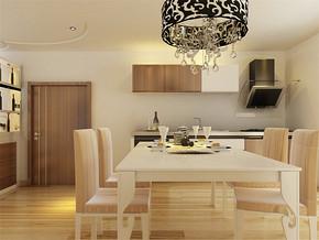 两室一厅客厅现代装修效果图