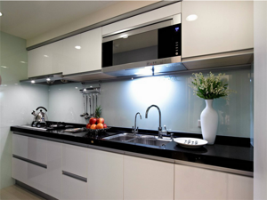 厨房装修大理石台面装修效果图
