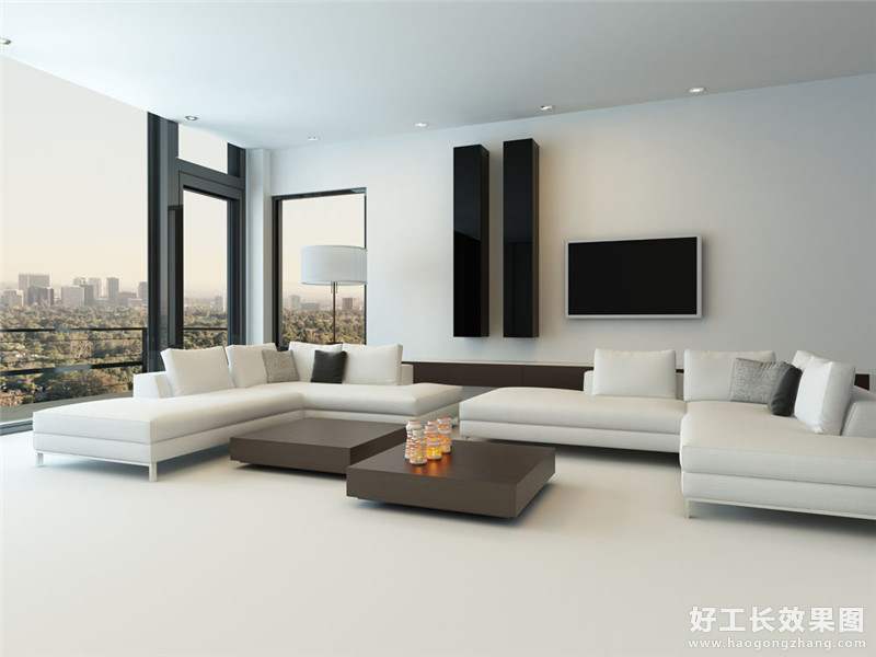 简约时尚风格客厅效果图