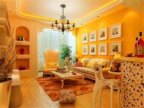 韩式田园布艺沙发
