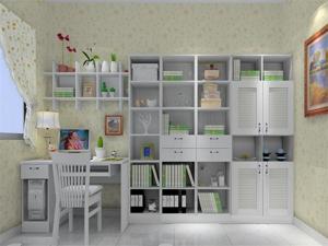 韩式书房房间装修设计图片