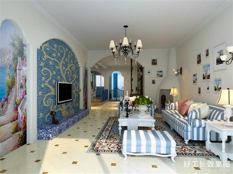 40平米一室一厅装修效果图