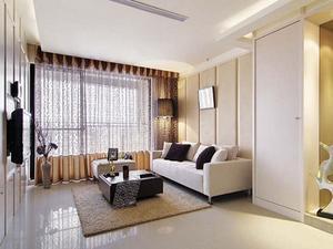 最新现代一室一厅装修效果图