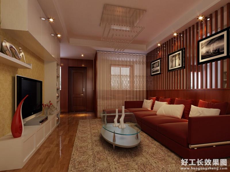 50平米一房一厅装修效果图