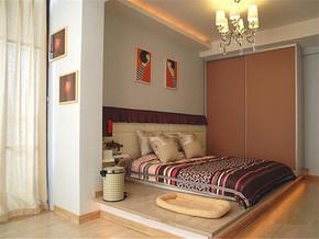韩式卧室榻榻米设计
