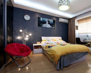现代小户型卧室装修衣柜图片