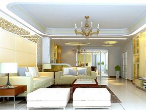 二室二厅室内设计效果图