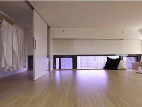 最新田园一室一厅装修效果图