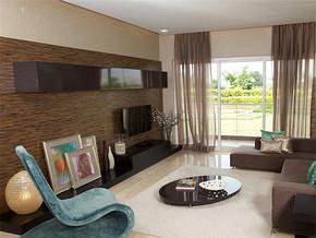 两室一厅简装修效果图
