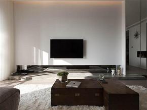 现代风格两室一厅房子装修效果图