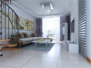 现代简约客厅背景墙装修设计效果图