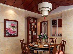 三室一厅一卫餐厅装修效果图