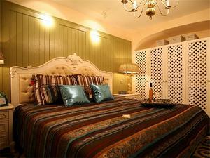 小面积欧式卧室装修效果图