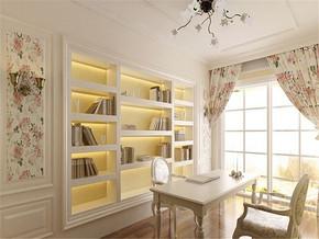 韩式家装书房效果图