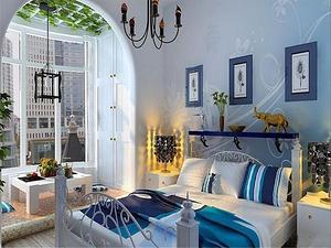 纯美地中海家具设计