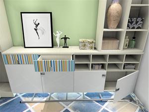 韩式客厅装修效果图柜子