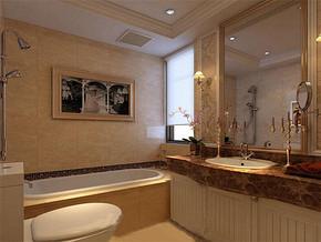 欧式小卫生间装修效果图