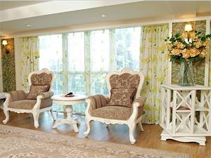 韩式阳台飘窗设计图片