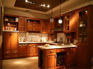 田园厨房装修设计图片